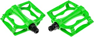 "HOMYL Integrally-molded Bike Bicycle Pedals 9/16"" Bearing Platform Pedals"