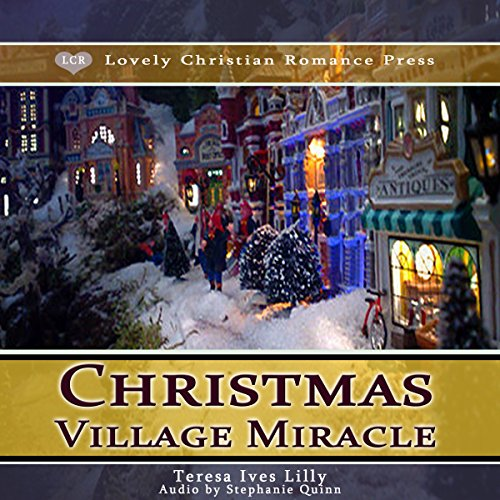 Christmas Village Miracle audiobook cover art