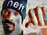 Posters-Galore Snoop Dogg Rapper Rap R&B Art Print Poster
