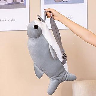 Simulation plush toys 1 قطعة من 55 سم لطيف المطرقة سمك القرش أفخم ظهره لعبة محاكاة القرش لعبة محشوة هدية لينة Plush toys F...