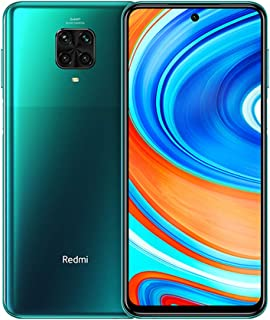 "Xiaomi, Redmi Note 9 Pro Smartphone 6GB RAM 64GB ROM 6.67"" DotDisplay 64MP AI Quad Cámara 5020mAh Tropical Green [Global V..."