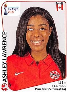 2019 Panini FIFA Women's World Cup France Sticker #335 Ashley Lawrence Canada Mini (Small) Sticker Trading Card