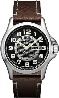 Luminox - XL.1801.NV Reloj de pulsera Automático Hombre correa de Cuero Marrón