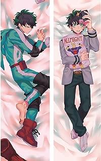 erttfly Deku Izuku Midoriya - Boku no Hero Academia Male 2 Way Tricot Pillowcases 150 x 50cm(59in x 19.6in)
