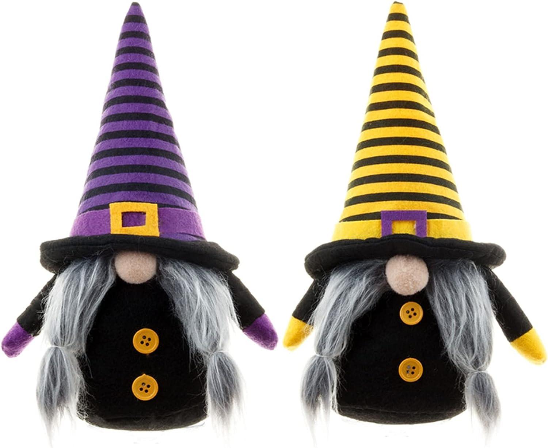 Al sold out. Yeah-hhi Halloween Handmade Gnome 2PCS Scandinavian Figuri Rare Dwarf