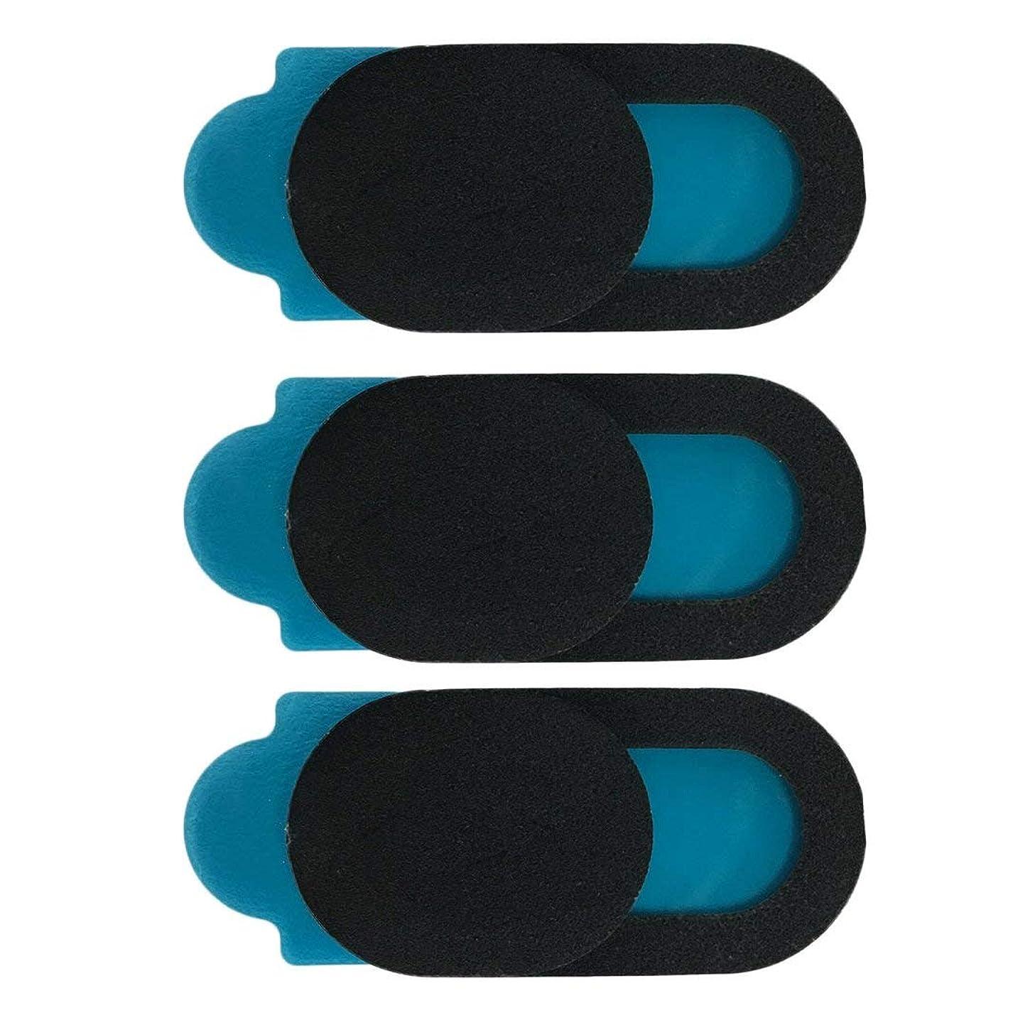借りる累積プロテスタントSwiftgood T1ブラックウェブカメラカバースマートフォンタブレットラップトップデスクトップ用超薄型ウェブカメラカバープライバシー保護シャッターステッカー