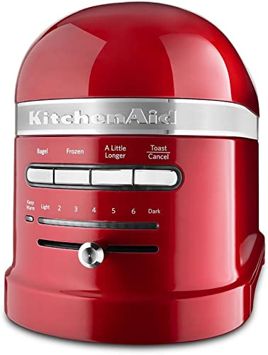 2021 KitchenAid discount KMT2203CA lowest Toaster - Candy Apple Red Pro Line Toaster sale
