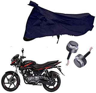 Riderscart All Season (Weather) Waterproof Bike Cover for Bajaj Pulsar 150 Indoor Outdoor Protection Combo with Storage Ba...