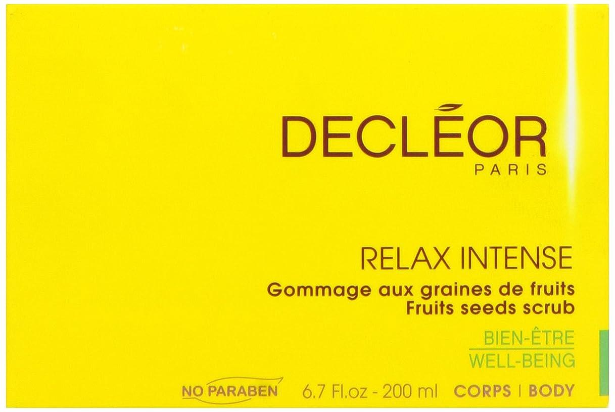 枯れるに勝る一月デクレオール(DECLEOR) フルーツ シード スクラブ 200ml(ボディ用洗浄料)