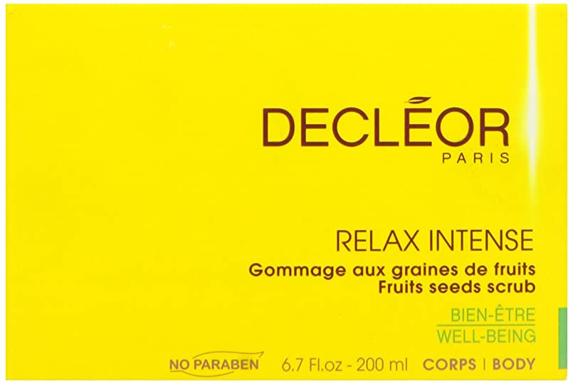 ラフケーブルカー介入するデクレオール(DECLEOR) フルーツ シード スクラブ 200ml(ボディ用洗浄料)