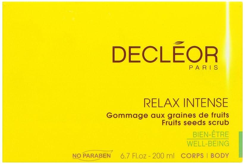 弾性統治可能降下デクレオール(DECLEOR) フルーツ シード スクラブ 200ml(ボディ用洗浄料)