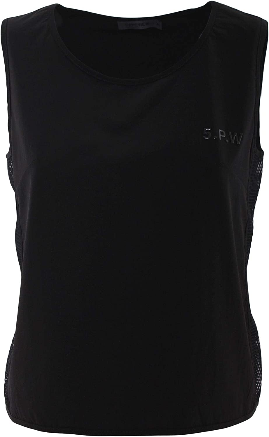 Five Preview Women's 011Q105900 Black Polyester Top