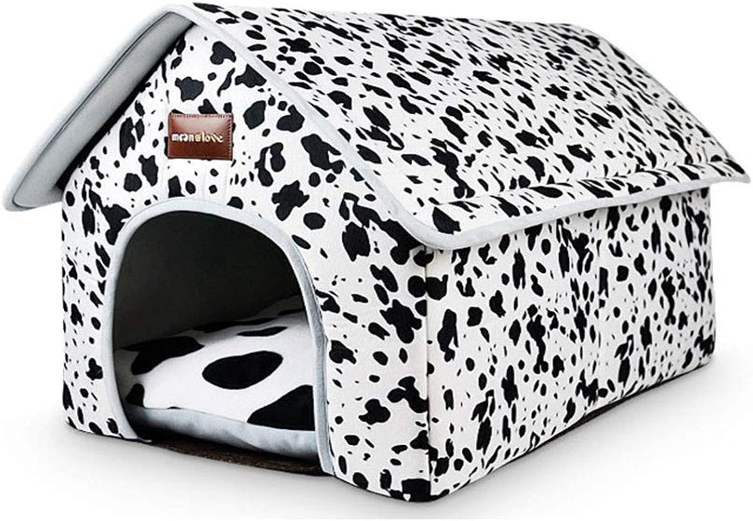 Pet Dog BedBest Friends Portable Kennel Indoor Outdoor Removable and Washable pet VIP Large pet Dog Supplies, M