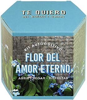 Resetea | Kit autocultivo | Flor del amor eterno