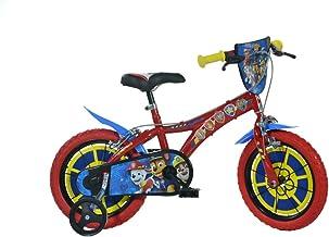 Dino Bikes 614-PW Paw Patrol Bike, Rojo, 14 Pulgadas