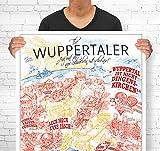 Lieferlokal Stadtposter Wuppertal in limitierter Auflage -