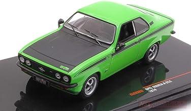 NEW IXO Model CLC332N Opel Manta A GT/E Dark Green 1:43 MODELLINO Die Cast Model