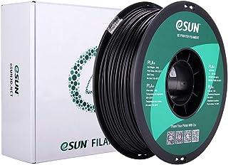 eSUN Imprimante 3D Filament PLA Plus, Filament PLA+ 2.85mm, Précision Dimensionnelle +/- 0.03mm, 1KG (2.2 LBS) Bobine Fila...