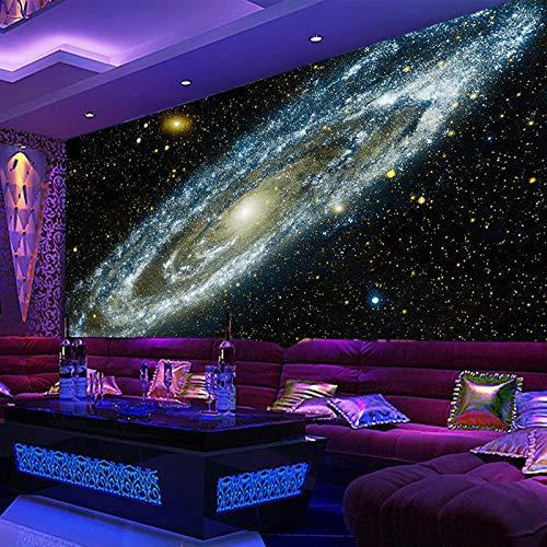 Fotobehang wandtattoo, zelfklevend, elke maat 3D, behang, Galaxy, Nieuwse sterren, plafond, muurschildering, woonkamer, bank, slaapkamer, achtergrond, canvas, behang
