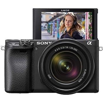 Sony α 6400 + SEL18135 MILC 24,2 MP CMOS 6000 x 4000 Pixel Nero