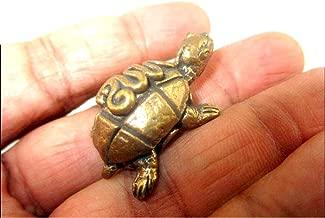 HiJet Brass Tortoise - Feng Shui & Vastu Shastra Turtle Statue Figurine Brings Harmony, Peace, Long Life, Money, Spiritual Energized Positive Mental Peace Prosperity Growth Christmas Xmas Gift