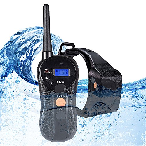 WOLFWILL Waterproof Rechargeable Humane Remote Dog Training Collar...