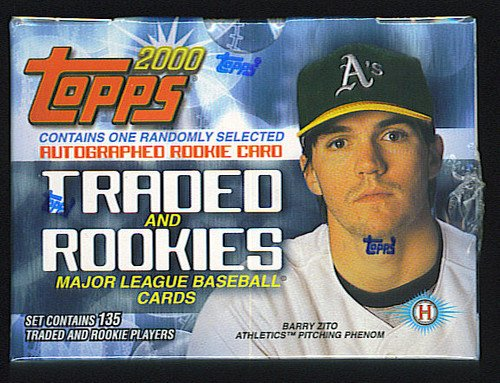 2000 Topps Traded Baseball Card Factory Sealed Set 132 Cards 1 Auto PER SET Miguel Cabrera Rookie