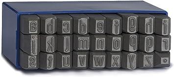 Schlagbuchstaben GRAVUREM-S Schlagzahlen oder A-Z,/& Schlagstempel 0-9 und