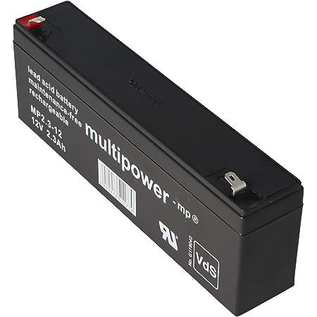 Q Batteries 12ls 2 1 12v 2 1ah Blei Vlies Akku Agm Vrla Vrla Mit Vds Elektronik
