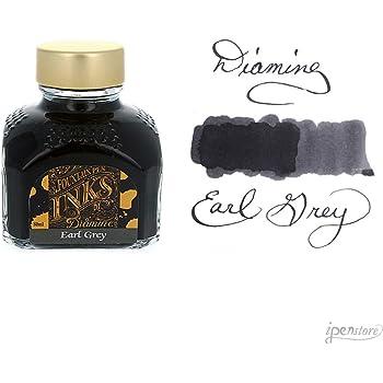 Diamine 80 ml Bottle Fountain Pen Ink, Earl Grey