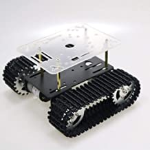 2021 Updated RC Metal Robot Tank Car Chassis for Arduino/Raspberry pi, Track Crawler/Caterpillar, Robotic Starter Learning...