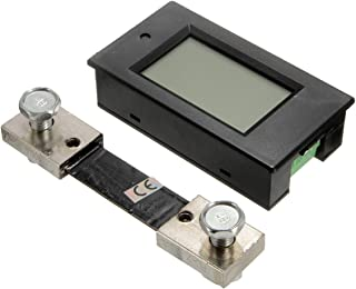 Easy to assemble DC 100A LCD Voltage Current Meter Car Battery Panel Power Monitor Convenient