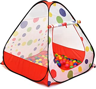 Kiddey Ball Pit Play Tent – Pops up No Assembly Required – Use as a Ball Pit..