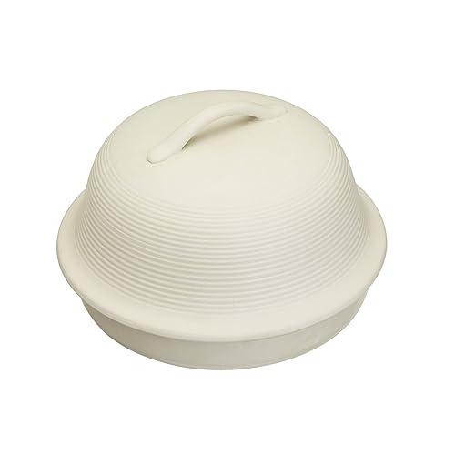 KitchenCraft Home Made Bread Cloche, Round, Stoneware, 30 cm