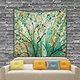 KHKJ Printed Variety Tapestry Living Room and Bedroom Decoration Sandy Beach Picnic Towel A2 150x130cm