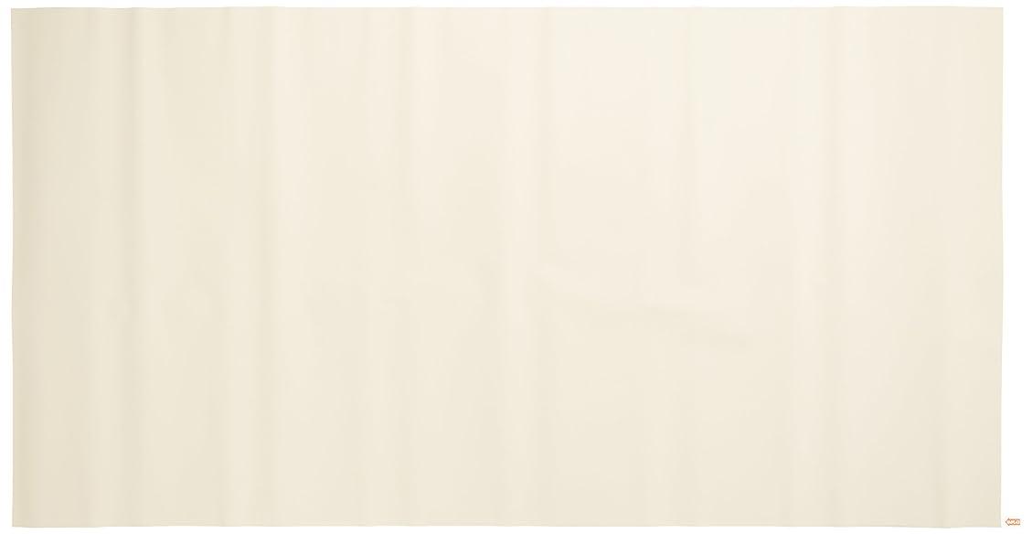 無視できるおじいちゃんなす浴室目隠しシート(凸凹面に貼れます) 46cm丈×90cm巻 無地 ベージュ(BE) YMS-4601