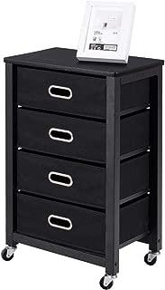 Best black 3 drawer storage cart Reviews