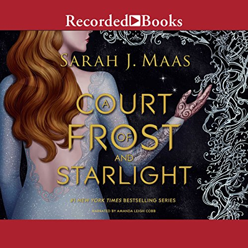 A Court of Frost and Starlight audiobook cover art