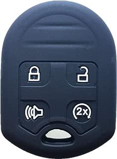 KeyGuardz Keyless Remote Car Key Fob Outer Shell Cover Soft Rubber Case for Ford F-150 F-250 F150 F250 Super Duty CWTWB1U793