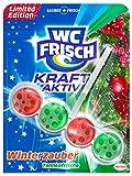 WC Frisch Kraft-Aktiv Duftspüler Winterzauber Tannenfrische - Limitierte Edition