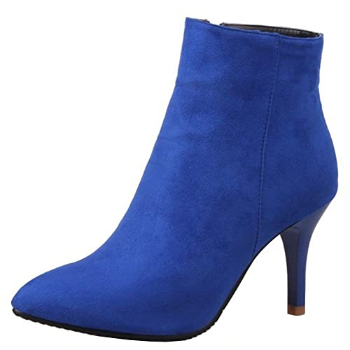 9498af2c4387 TAOFFEN Women s Fashion Stiletto High Heel Ankle Boots