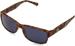 Guess Men's Fashion Sun GU 6755 K13 Sunglasses, Blue, 58 mm