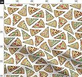 Pizza, Essen, Ungesundes Essen, Fast Food, Speck, Käse,