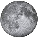 Jigsaw Puzzles for Adults Teen 1000 Pieces - Moon Planet Large Round Jigsaw Puzzle Difficult and Challenge