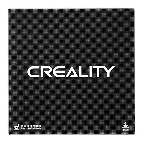 CHPOWER for Creality 3D CR-10/ CR-10S Heated Bed, Tempered Glass Plate Build Surface 310x 310x 4mm
