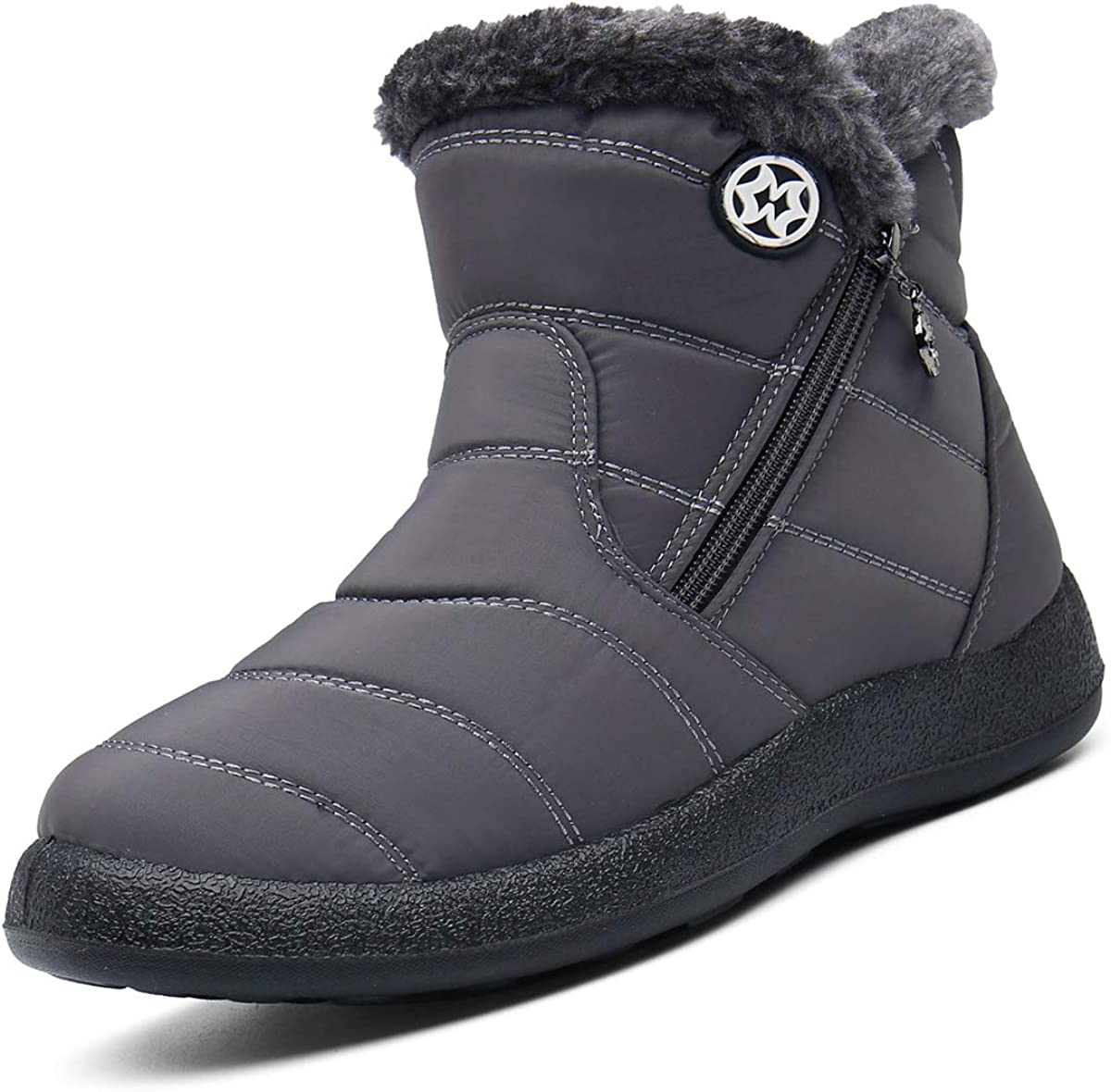 Eagsouni Snow Boots Womens Winter Now free Max 68% OFF shipping Fur Li Warm Ladies Ankle
