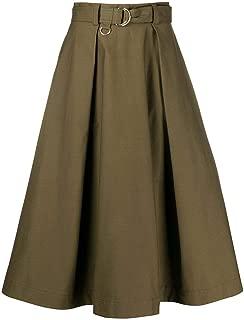 MSGM Luxury Fashion Womens 2841MDD8020711223 Green Skirt |
