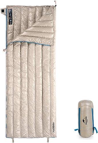 mejor moda Saco de de de dormir, Saco de dormir a prueba de agua ultra liviano de nylon, Saco de dormir plegable para actividades al aire libre, Caza Senderismo Saco de dormir Equipo de campamento de invierno,Beige  60% de descuento