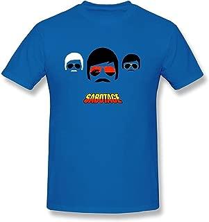 WunoD Men's Beastie Boys Sabotage T-Shirt