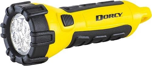 چراغ قوه LED ضد آب شناور Dorcy 41-2510 با کلیپ کارابینر ، 55 لومن ، زرد